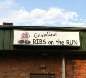 You can eat the ribs--but first you have to catch them!